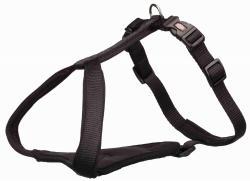 Trixie - Trixie Köpek Premium Göğüs Tasması, XL-XXL:95-120cm/25mm, Siyah