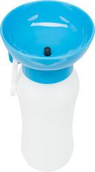 Trixie - Trixie Köpek Seyahat Su Şişesi ve Su Kabı, 0,55lt