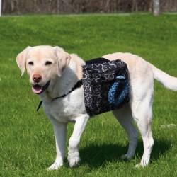 Trixie - Trixie Köpek Sırt Çantası M 23X15cm Siyah