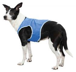 Trixie - Trixie Köpek Soğutucu Yelek, M : 30cm, Mavi