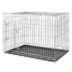 Trixie - Trixie Köpek Taşıma Galvaniz Kafes, 78X62X55cm