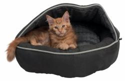 Trixie - Trixie Köpek ve Kedi Yatağı, ø 70 cm, Antrasit