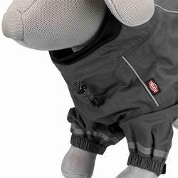 Trixie Köpek Yağmurluğu, Uzun Bacaklı, S 33cm Gri - Thumbnail