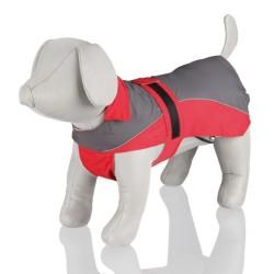 Trixie - Trixie Köpek Yağmurluğu XL:70cm Kırmızı/Gri