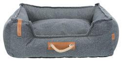 Trixie - Trixie Köpek Yatağı, 100x80cm, Koyu Gri