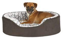 Trixie - Trixie Köpek Yatağı 110X92cm Siyah/Gri