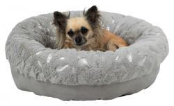 Trixie - Trixie Köpek Yatağı, ø 50 cm, Gri/Gümüş