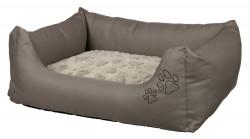Trixie - Trixie Köpek Yatağı 75X65cm Boz Kahve/Bej