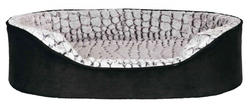 Trixie - Trixie Köpek Yatağı 83X67cm Siyah/Gri