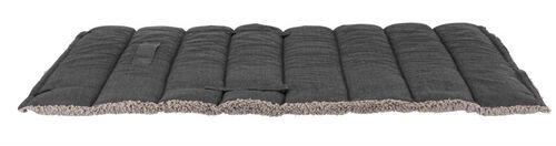 Trixie Köpek Yatağı, Katlanabilir, İnce, 100x65cm, Koyu Gri/Açık Gri