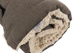 Trixie Köpek Yatağı, Katlanabilir, İnce, 100x65cm, Koyu Kahve/Bej - Thumbnail