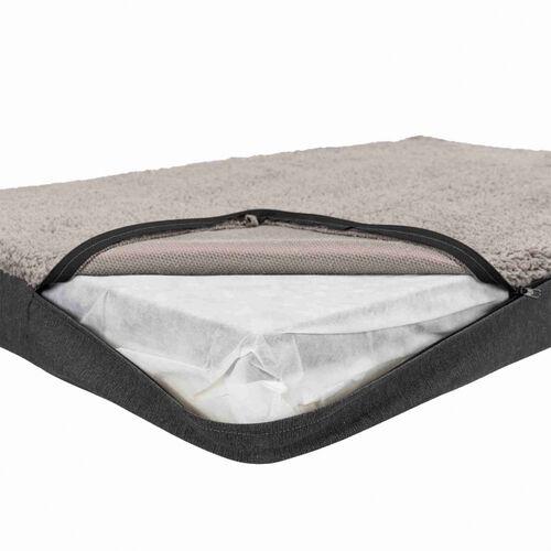 Trixie Köpek Yatağı, Ortopedik, 100x65cm, Koyu Gri/Açık Gri