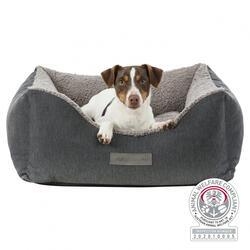 Trixie Köpek Yatağı, Ortopedik, 70x60cm, Koyu Gri/Açık Gri - Thumbnail