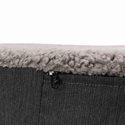 Trixie Köpek Yatağı, Ortopedik, 80x60cm, Koyu Gri/Açık Gri - Thumbnail