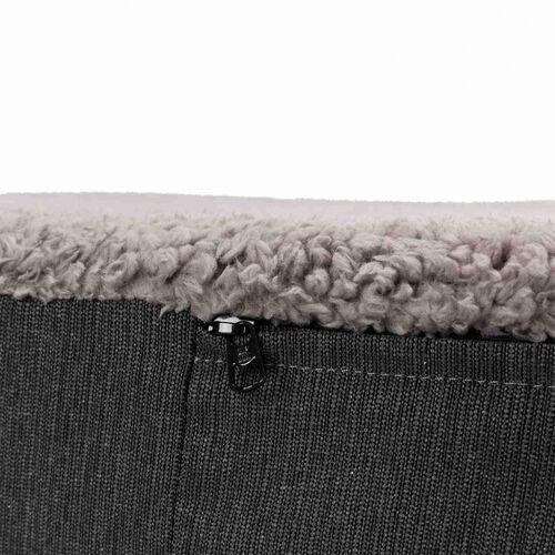 Trixie Köpek Yatağı, Ortopedik, 80x60cm, Koyu Gri/Açık Gri