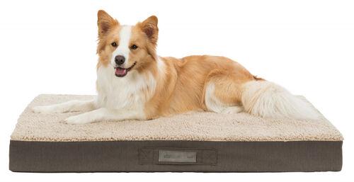 Trixie Köpek Yatağı, Ortopedik, 80x60cm, Koyu Kahve/Bej