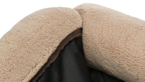 Trixie Köpek Yatağı, Ortopedik, 90x80cm, Koyu Kahve/Bej