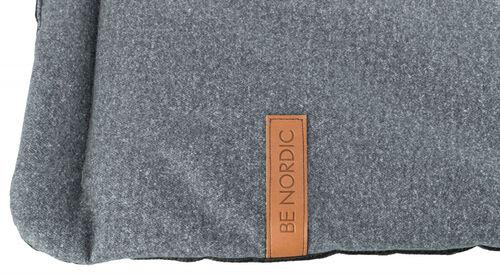 Trixie Köpek Yatağı, Yumuşak ve İnce, 100x70cm, Gri