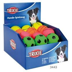Trixie - Trixie Köpek Yüzen Natürel Kauçuk Fosforlu Top 6cm