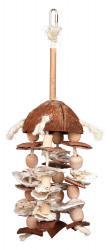 Trixie - Trixie Kuş Oyuncağı, Askılı, Doğal, 42cm
