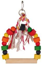 Trixie - Trixie Papağan Oyuncaklı Tünek, 20X29cm