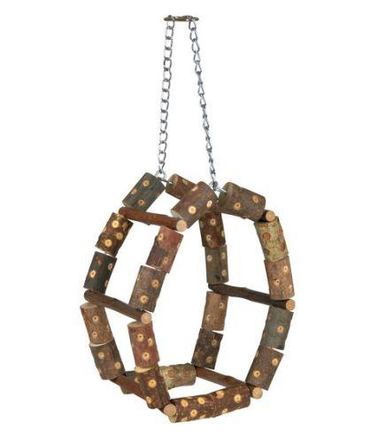 Trixie Paraket Tüneği, Doğal, 11X17X11cm