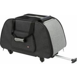 Trixie - Trixie Pet Taşıma Çantası , 34×43×67cm , Siyah/Gri