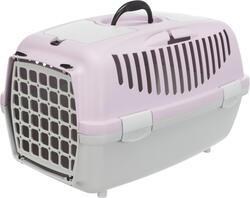 Trixie - Trixie Pet Taşıma Çantası XS-S 37x34x55cm A.Gri/Açık Lila