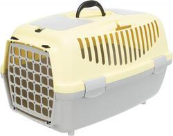 Trixie - Trixie Pet Taşıma Çantası XS-S 37x34x55cm A.Gri/Sarı