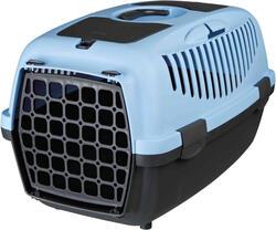 Trixie - Trixie Pet Taşıma Çantası XS-S 37x34x55cm K.Gri/Pastel Mavi